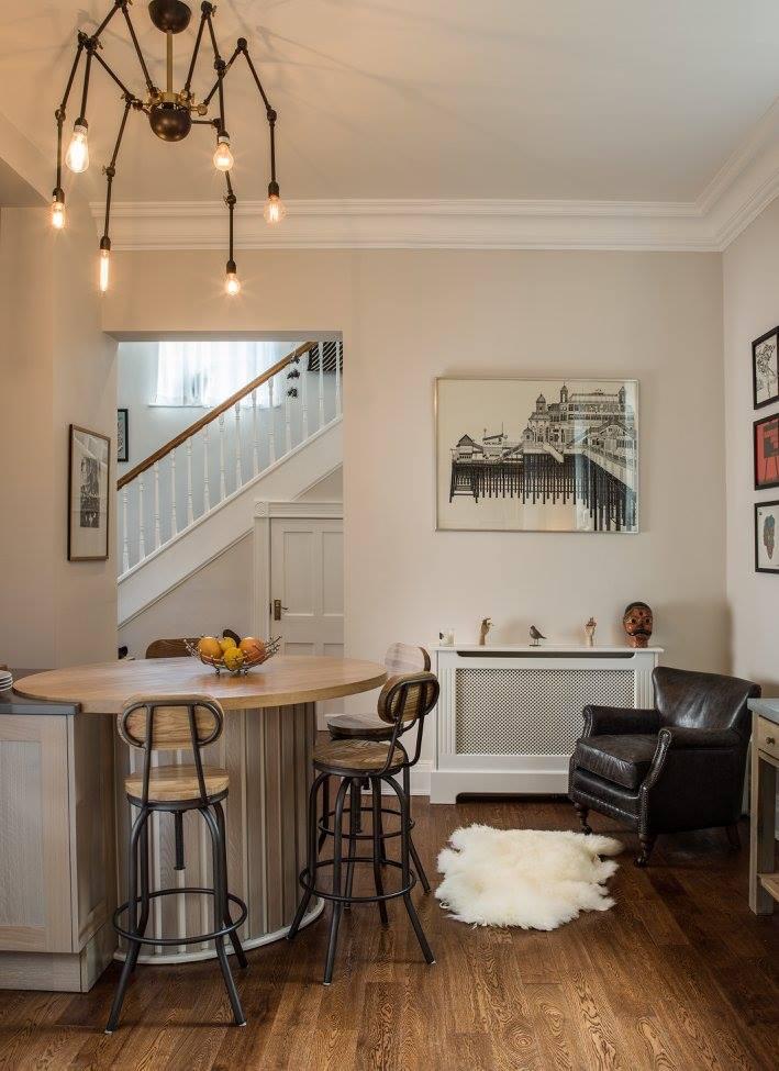 Hand painted & grey washed Oak Shaker kitchen-4.jpg