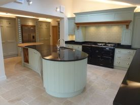 Hand Painted Shaker Style Kitchen, Hinksey Hill