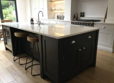 Elegant Shaker Style Framed Kitchen, Wendover, Bucks