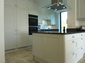 French Grey Shaker Kitchen, Frilford Heath, Oxfordshire