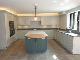 Hand Painted Shaker Kitchen, Goring